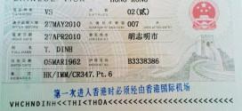 Dịch vụ visa Hồng Kông công tác 2015