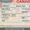 Hồ sơ cần thiết xin visa Canada
